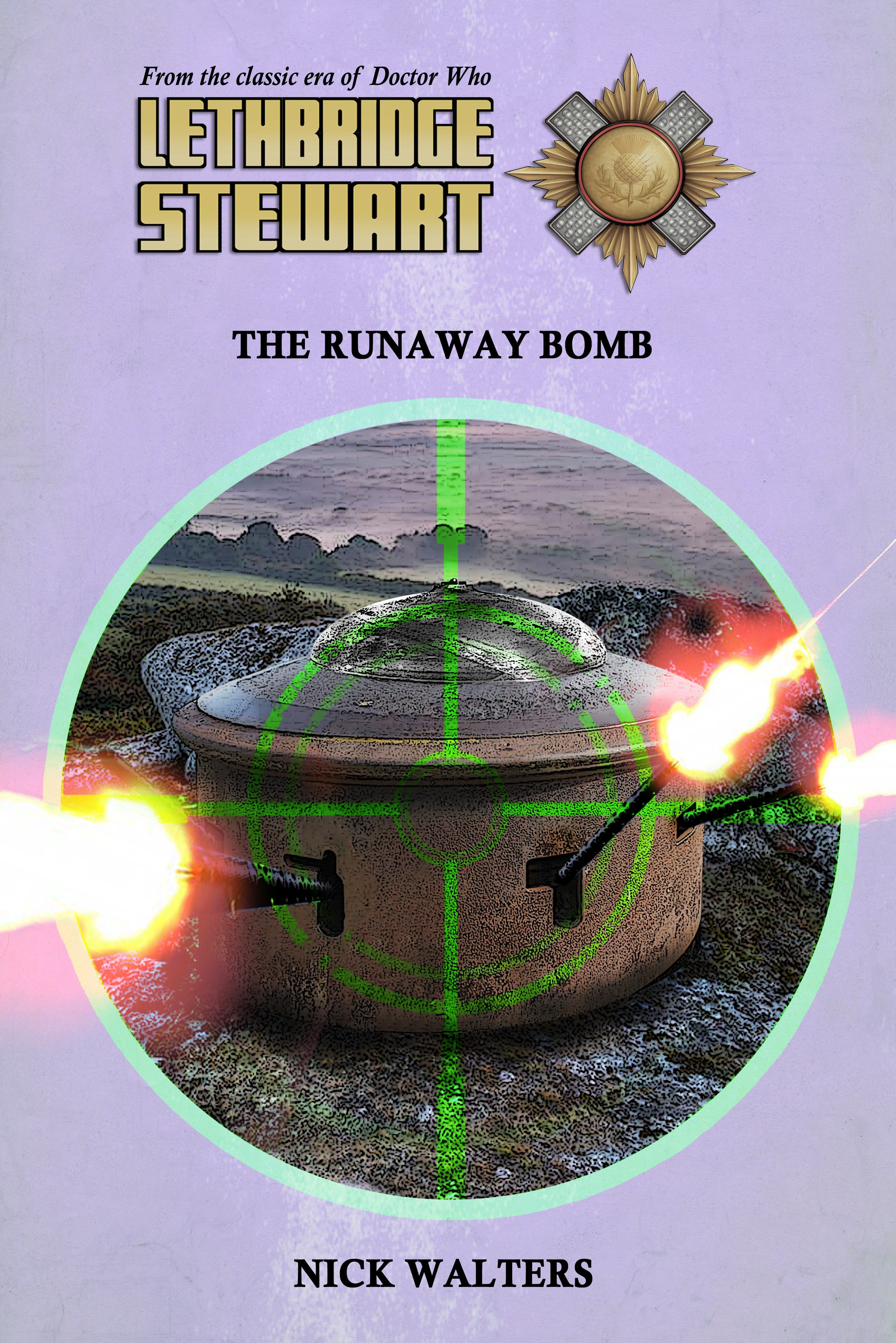 Lethbridge-Stewart: The Runaway Bomb (Credit: Candy Jar Books)