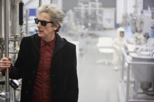 The Pyramid At The end Of The World: The Doctor (Peter Capaldi) (Credit: BBC/BBC Worldwide (Simon Ridgway))