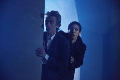 The Lie Of The Land: The Doctor (Peter Capaldi), Bill (Pearl Mackie) (Credit: BBC/BBC Worldwide (Simon Ridgway))