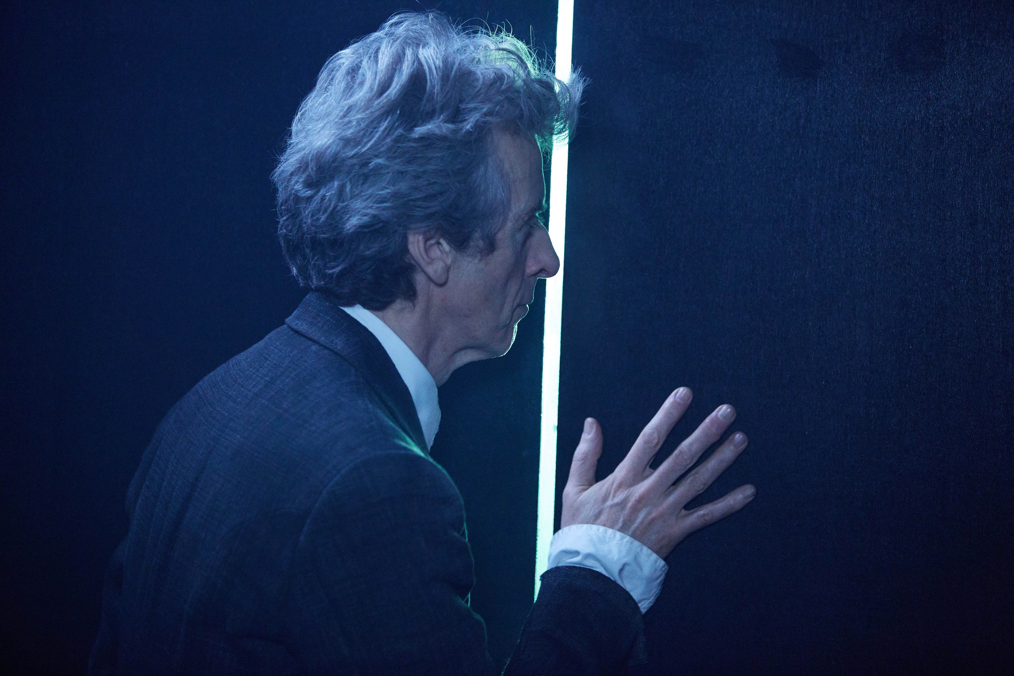 The Lie Of The Land: The Doctor (Peter Capaldi) (Credit: BBC/BBC Worldwide (Simon Ridgway))