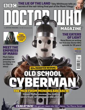 Doctor Who Magazine 513 (Cyberman variant) (Credit: DWM)