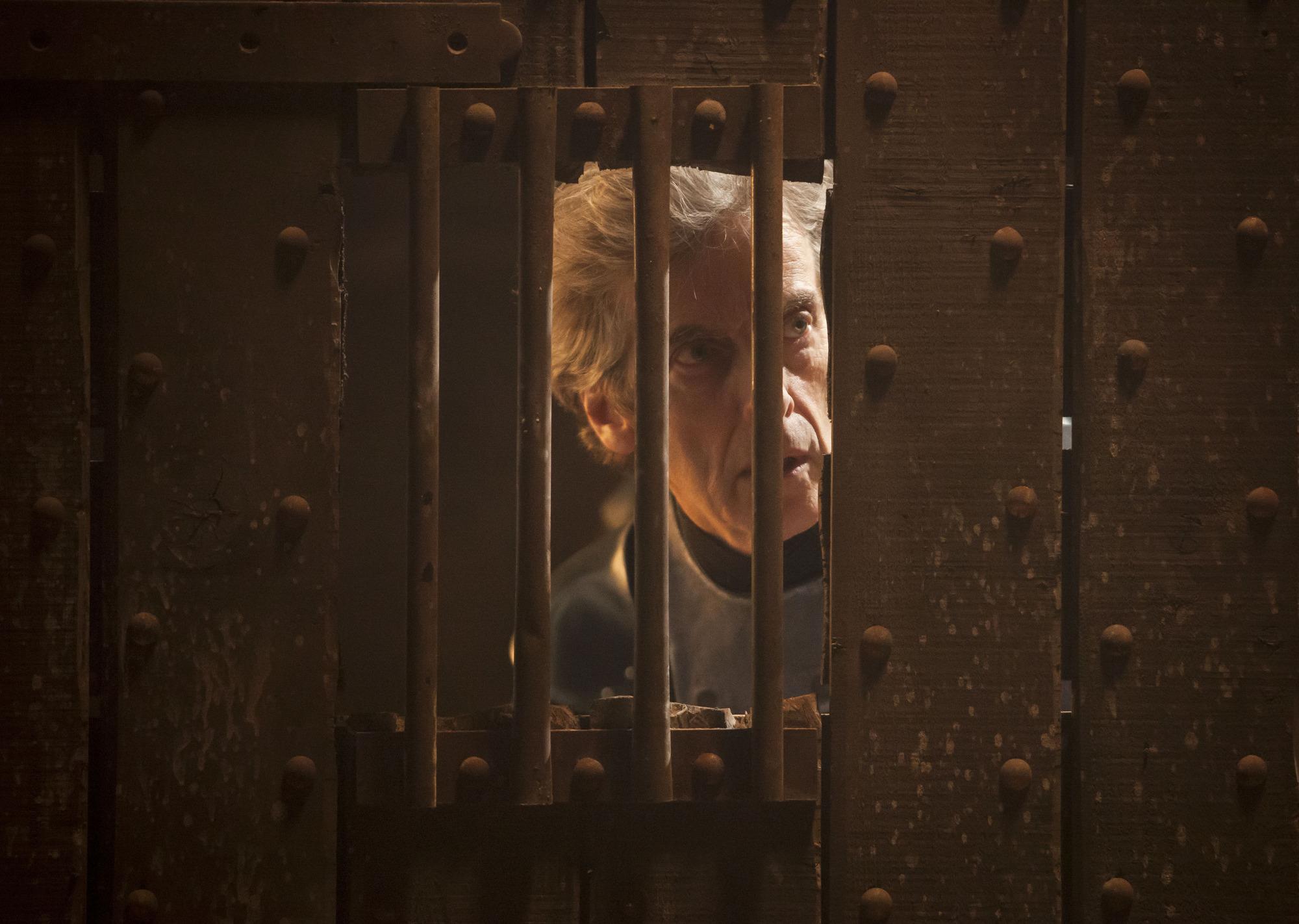 Empress of Mars: The Doctor (Peter Capaldi) (Credit: BBC/BBC Worldwide (Jon Hall))
