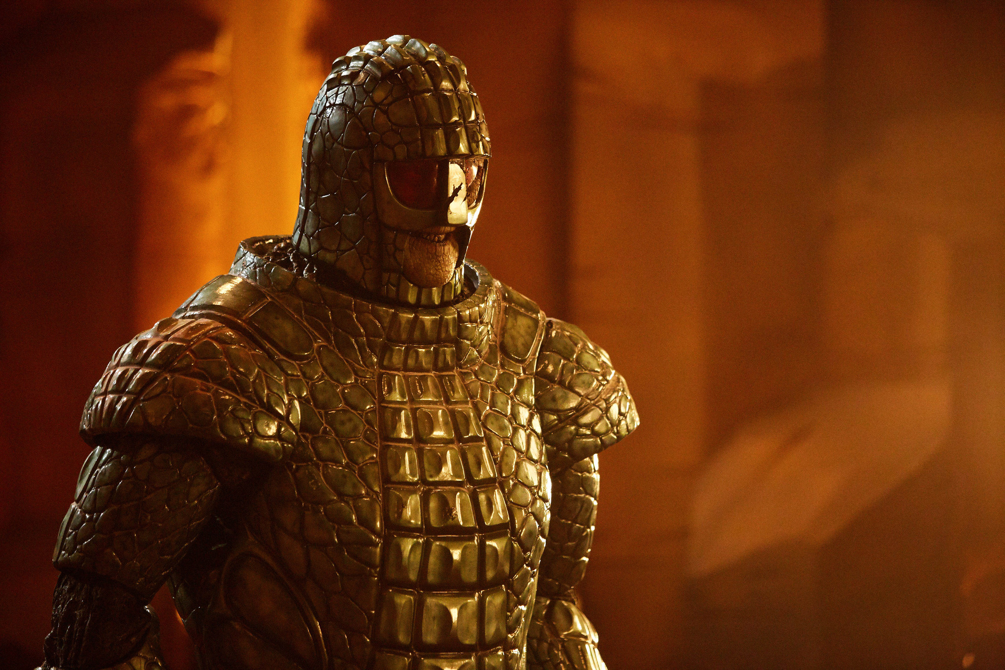Empress of Mars: Friday (Richard Ashton) (Credit: BBC/BBC Worldwide (Simon Ridgway))