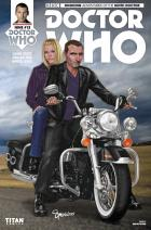 DOCTOR WHO NINTH DOCTOR #13  Cover C  (Credit: Titan / Simon Myers)
