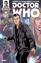 DOCTOR WHO NINTH DOCTOR #13  Cover A (Credit: Titan / Wellington Diaz)