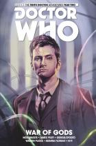 DOCTOR WHO TENTH DOCTOR VOL 07 WAR OF GODS (Credit: Titan )