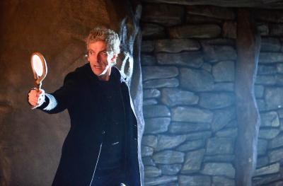 The Eaters of Light: The Doctor (Peter Capaldi) (Credit: BBC/BBC Worldwide (Simon Ridgway))