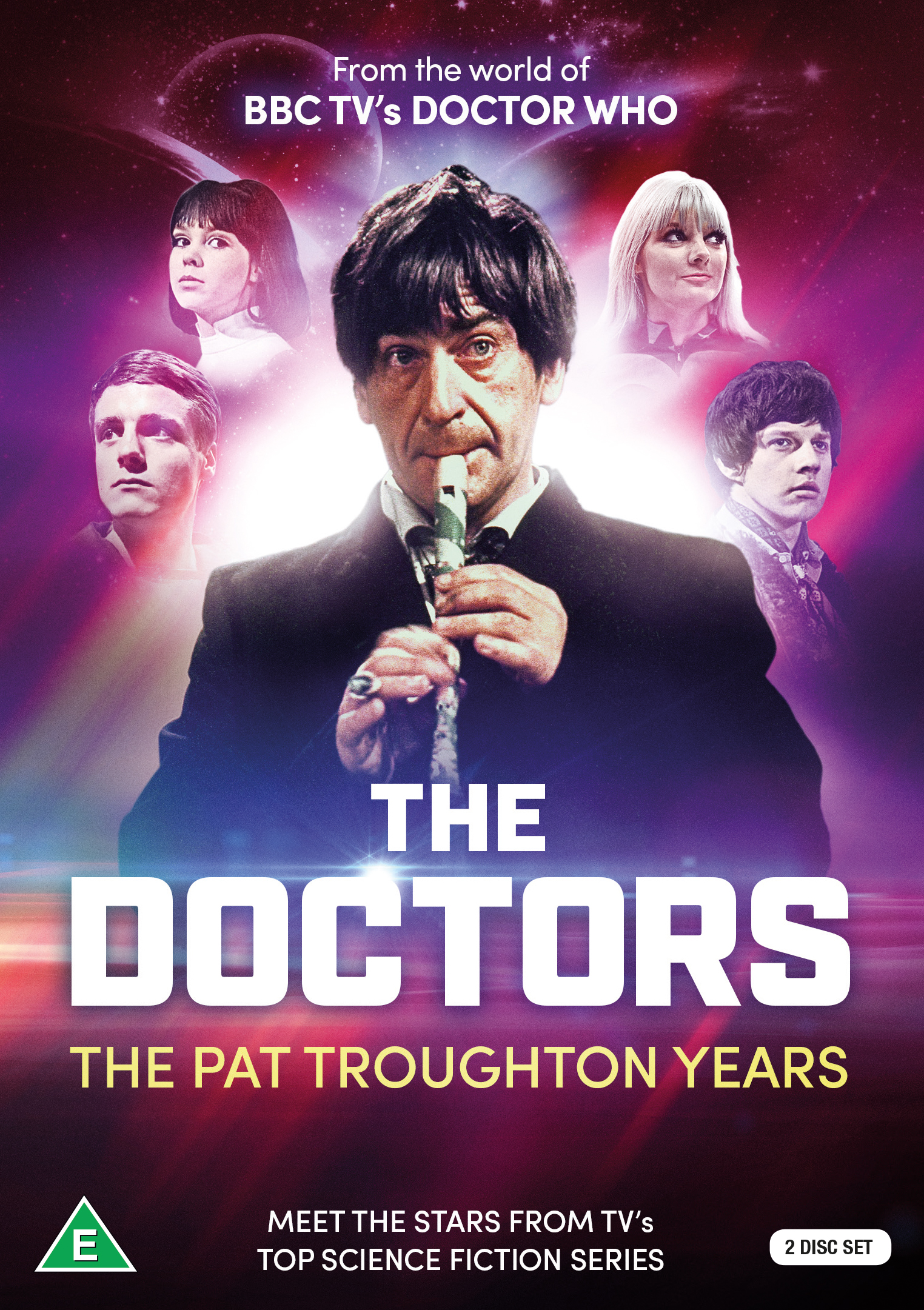 The Doctors: The Pat Troughton Years (Credit: Koch Media)