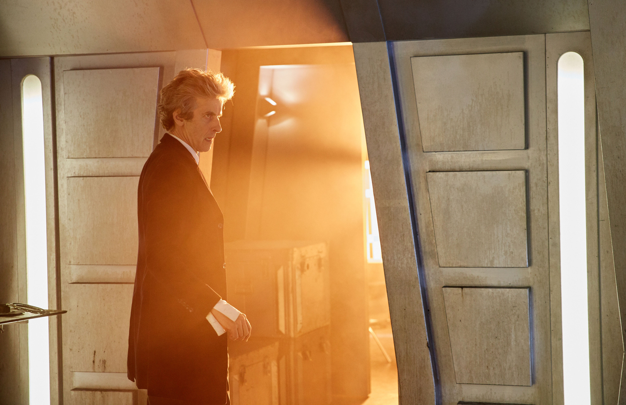 : The Doctor (Peter Capaldi) (Credit: BBC/BBC Worldwide (Simon Ridgway))