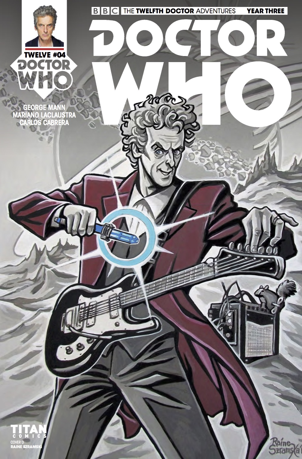 Doctor Who: Twelfth Doctor Year 3 #4​ - Cover D (Credit: Titan / Raine Szramski)