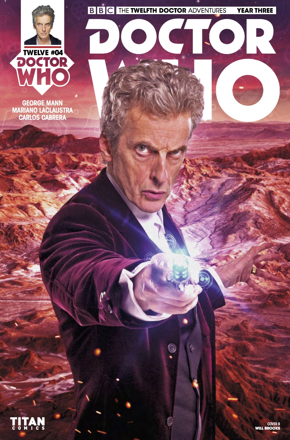 Doctor Who: Twelfth Doctor Year 3 #4​ - Cover B (Credit: Titan / Will Brooks )