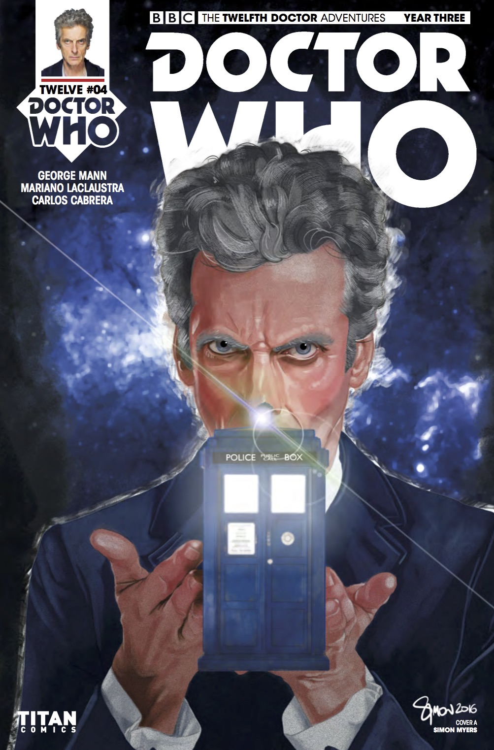 Doctor Who: Twelfth Doctor Year 3 #4​ - Cover A (Credit: Titan / Simon Myers )