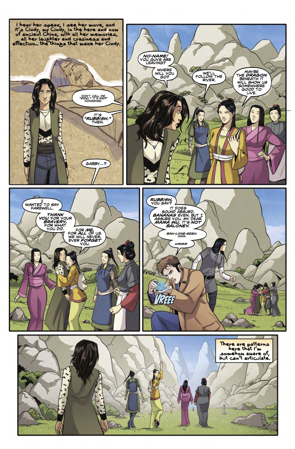 D​octor Who: The Tenth Doctor Year 3 #6​ Page 5 (Credit: Titan)