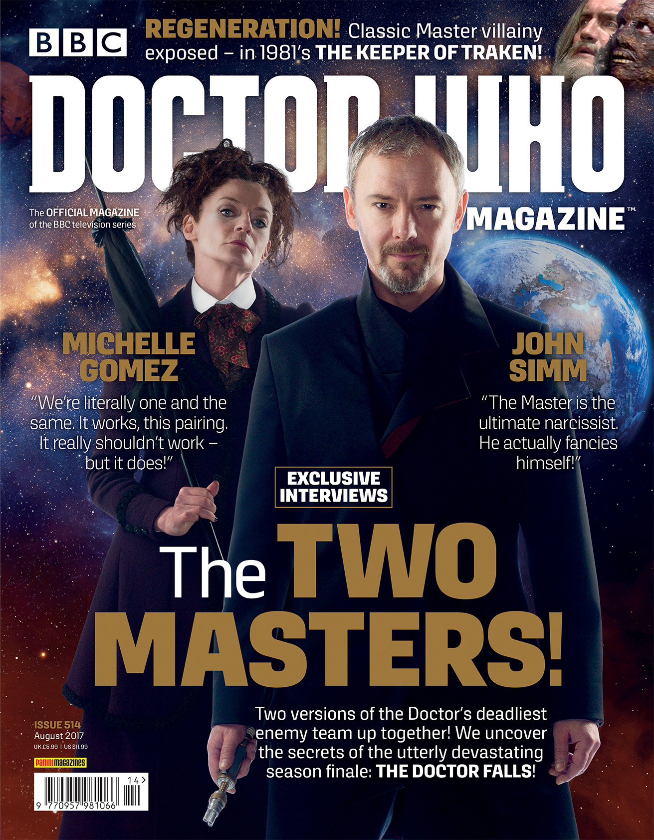 Doctor Who Magazine: Issue 514 (Credit: Panini)
