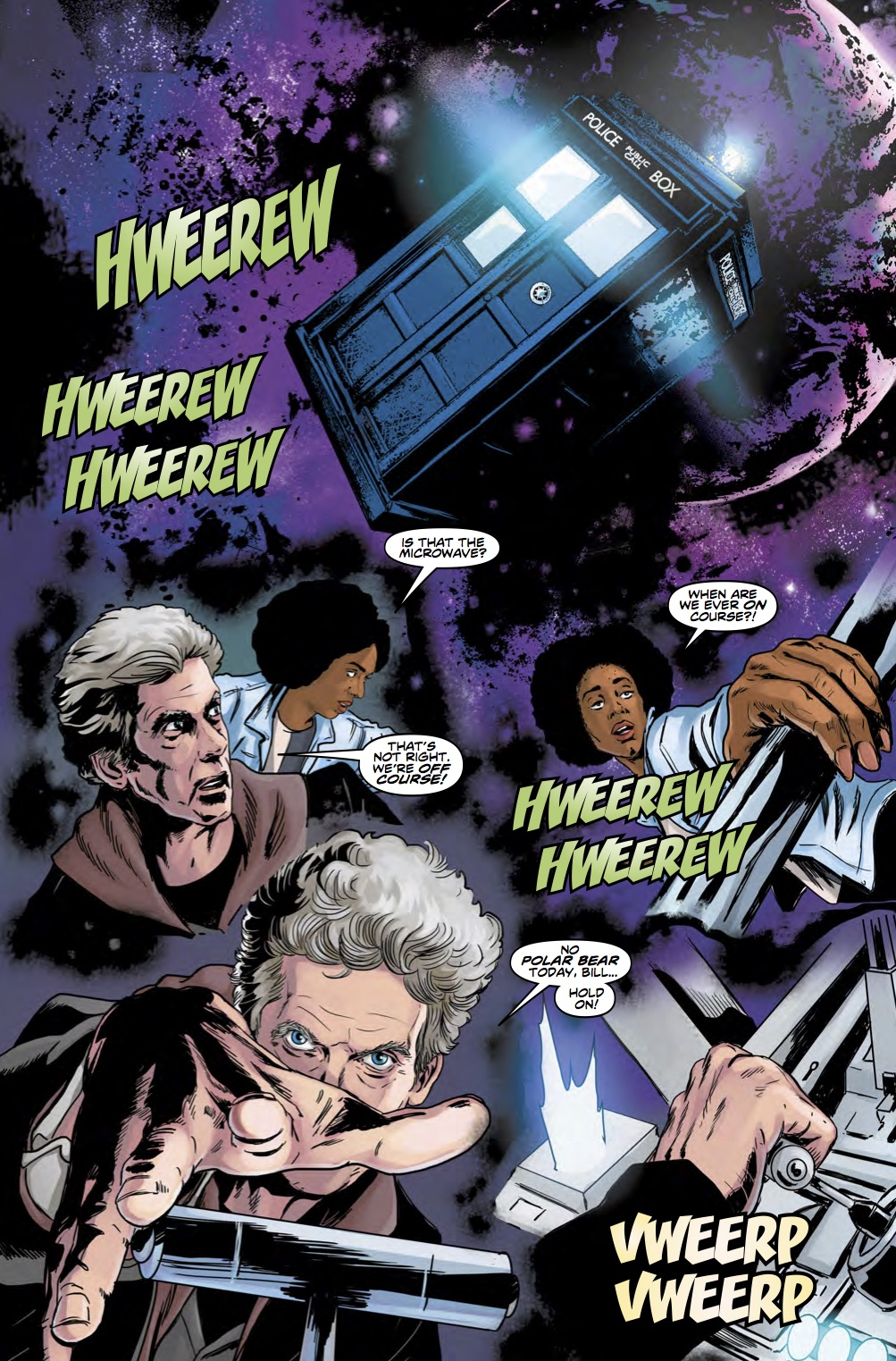 Doctor Who 12th Year Three #5 Page 5 (Credit: Titan)