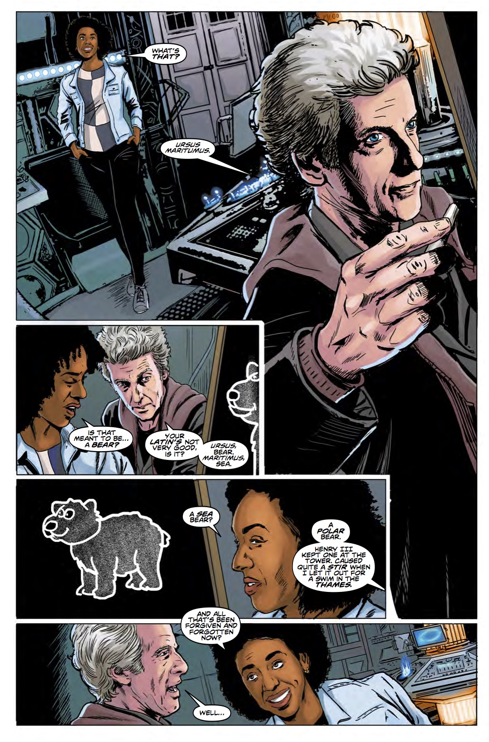 Doctor Who 12th Year Three #5 Page 3 (Credit: Titan)