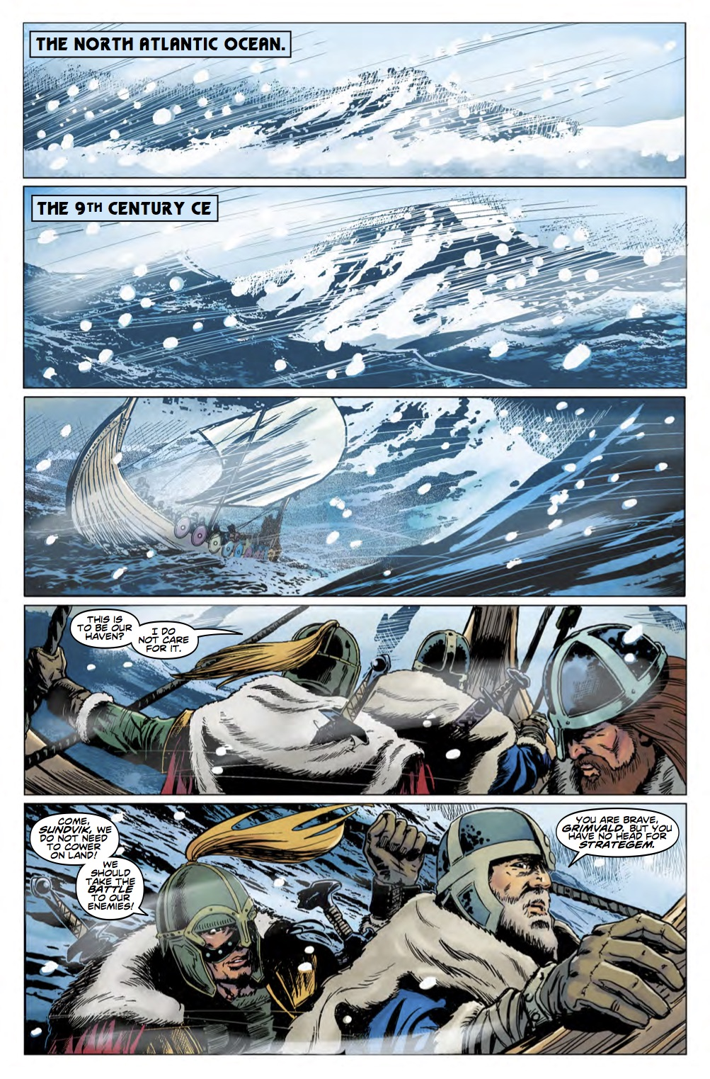 Doctor Who 12th Year Three #5 Page 1 (Credit: Titan)