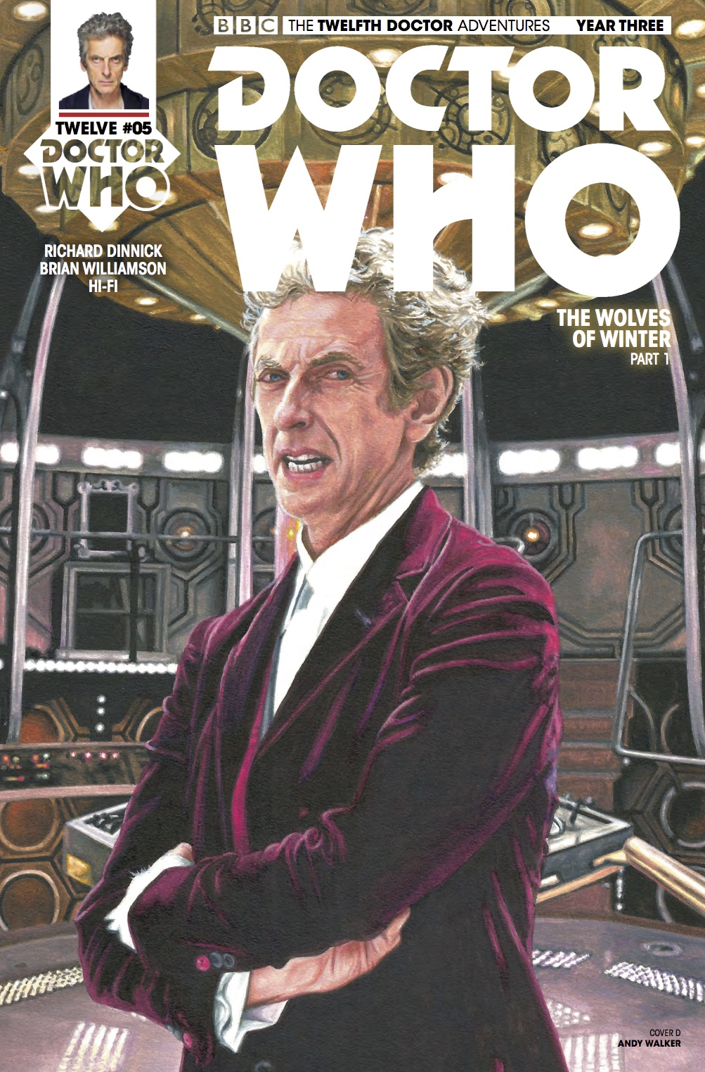 Doctor Who 12th Year Three #5 Cover D (Credit: Titan / Andy​ Walker)