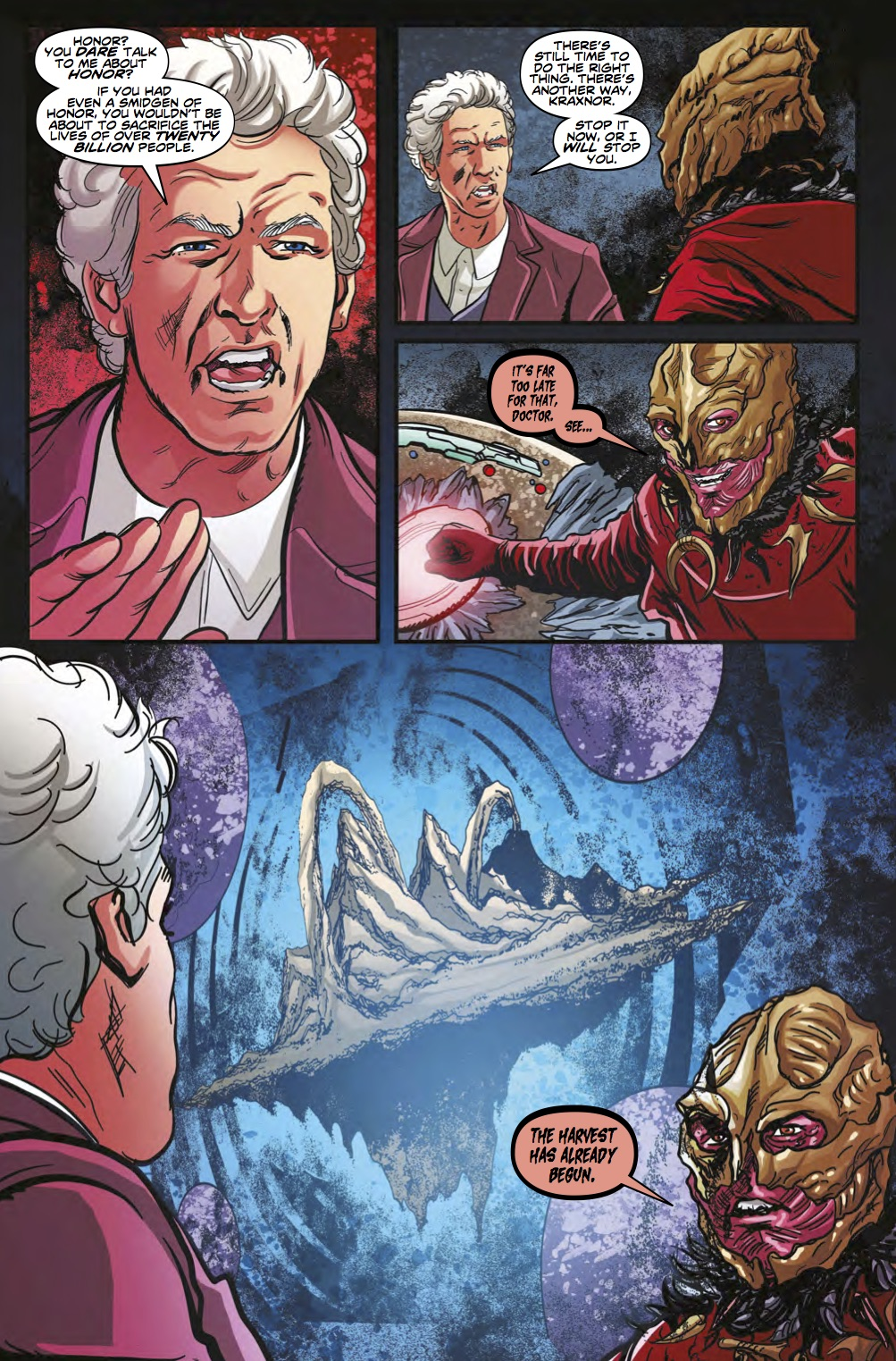 Doctor Who Ghost Stories #4 Page 3 (Credit: Titan)