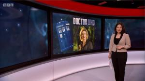 BBC Weekend News (the new Doctor)