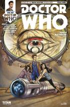 ​Doctor Who: Tenth Doctor #3.7 Cover C (Credit: Titan / Blair Shedd)