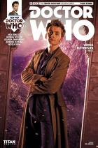 ​Doctor Who: Tenth Doctor #3.7 Cover B (Credit: Titan / Will Brooks )