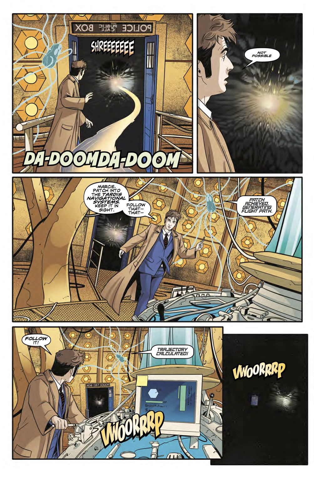 Doctor Who: Tenth Doctor Year Three #8 (Credit: Titan)
