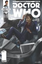 Doctor Who: Tenth Doctor Year Three #8 Cover A (Credit: Titan /  Claudia SG Iannicello)