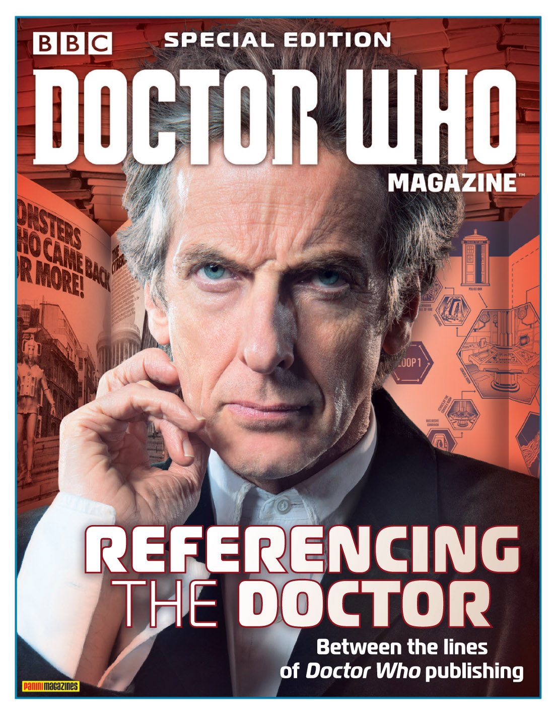 Referencing The Doctor (Credit: Panini)