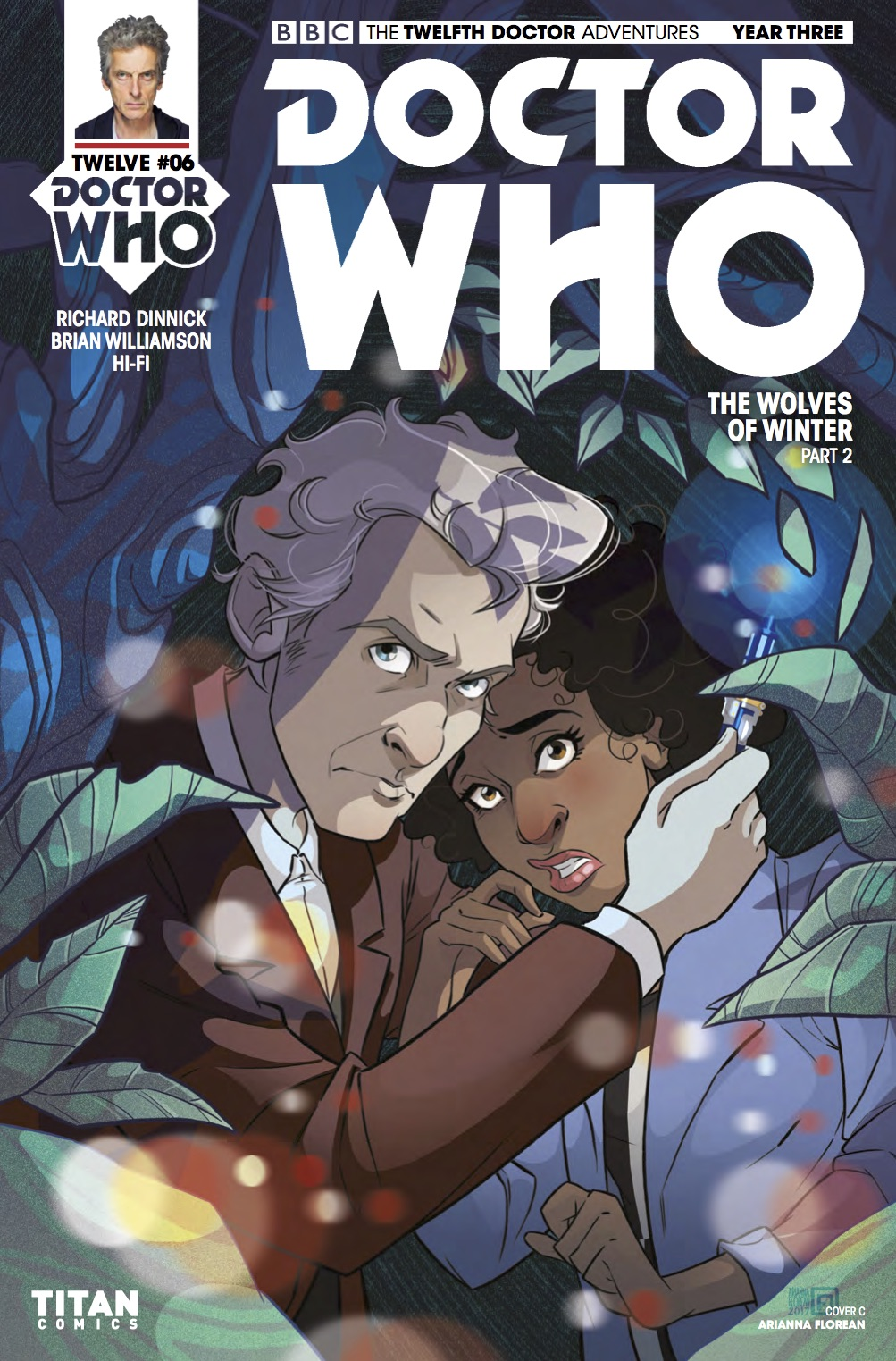 Doctor Who: Twelfth Doctor Year Three #6 Cover C (Credit: Titan / Arianna Florean )