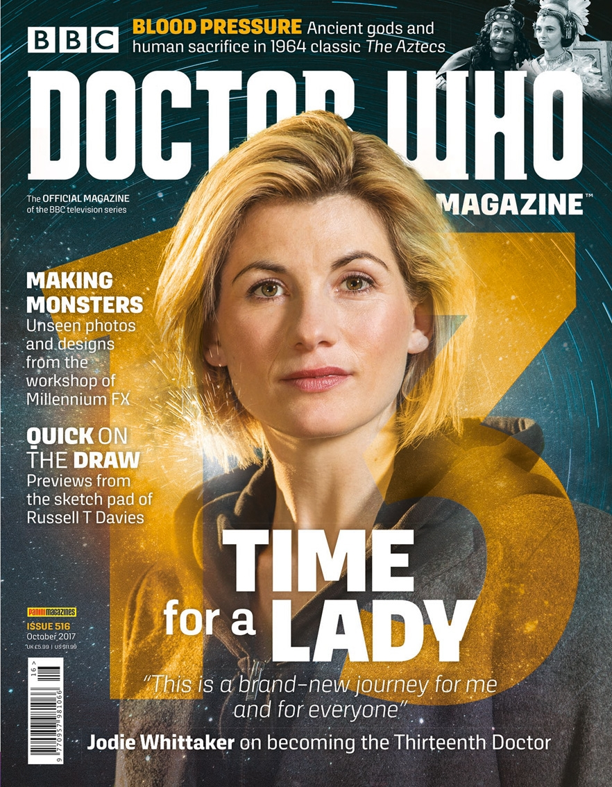 Doctor Who Magazine 516 (Credit: Panini)