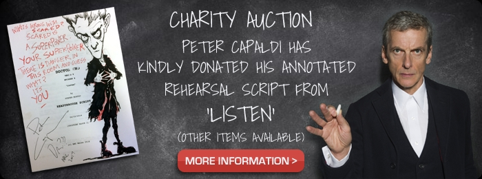 DWAS: Peter Capaldi charity auction (Credit: DWAS)