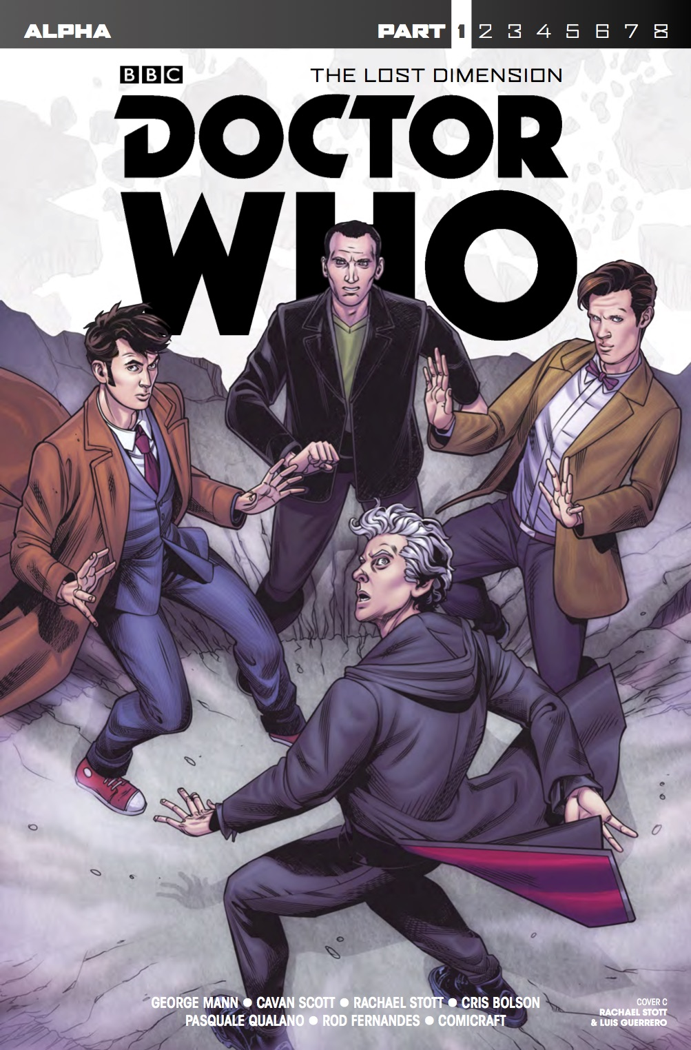 Doctor Who: The Lost Dimension - Alpha - Cover C (Credit: Titan)