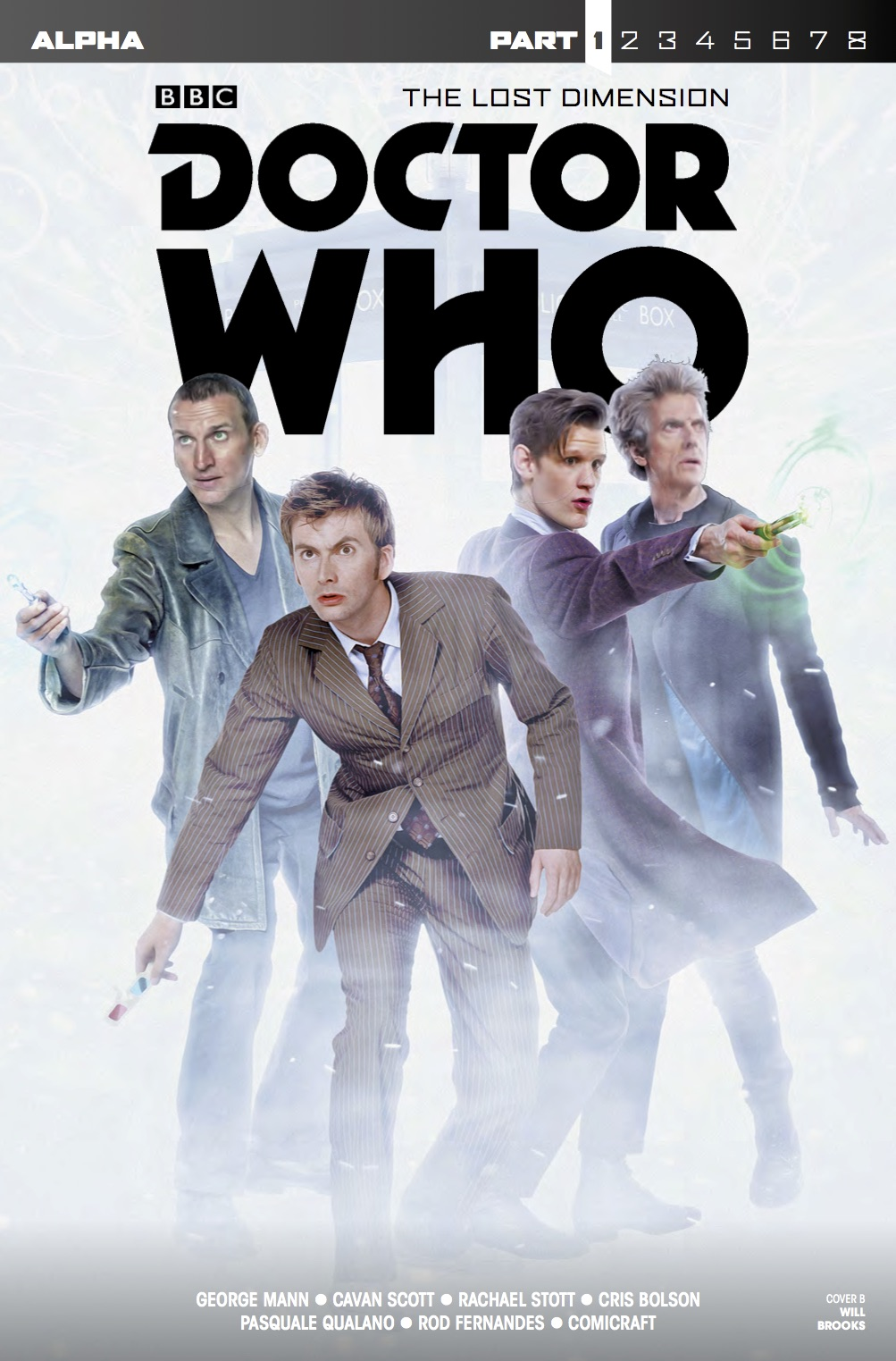 Doctor Who: The Lost Dimension - Alpha - Cover B (Credit: Titan)