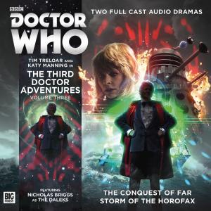 The Third Doctor Adventures Volume 03 (Credit: Big Finish)