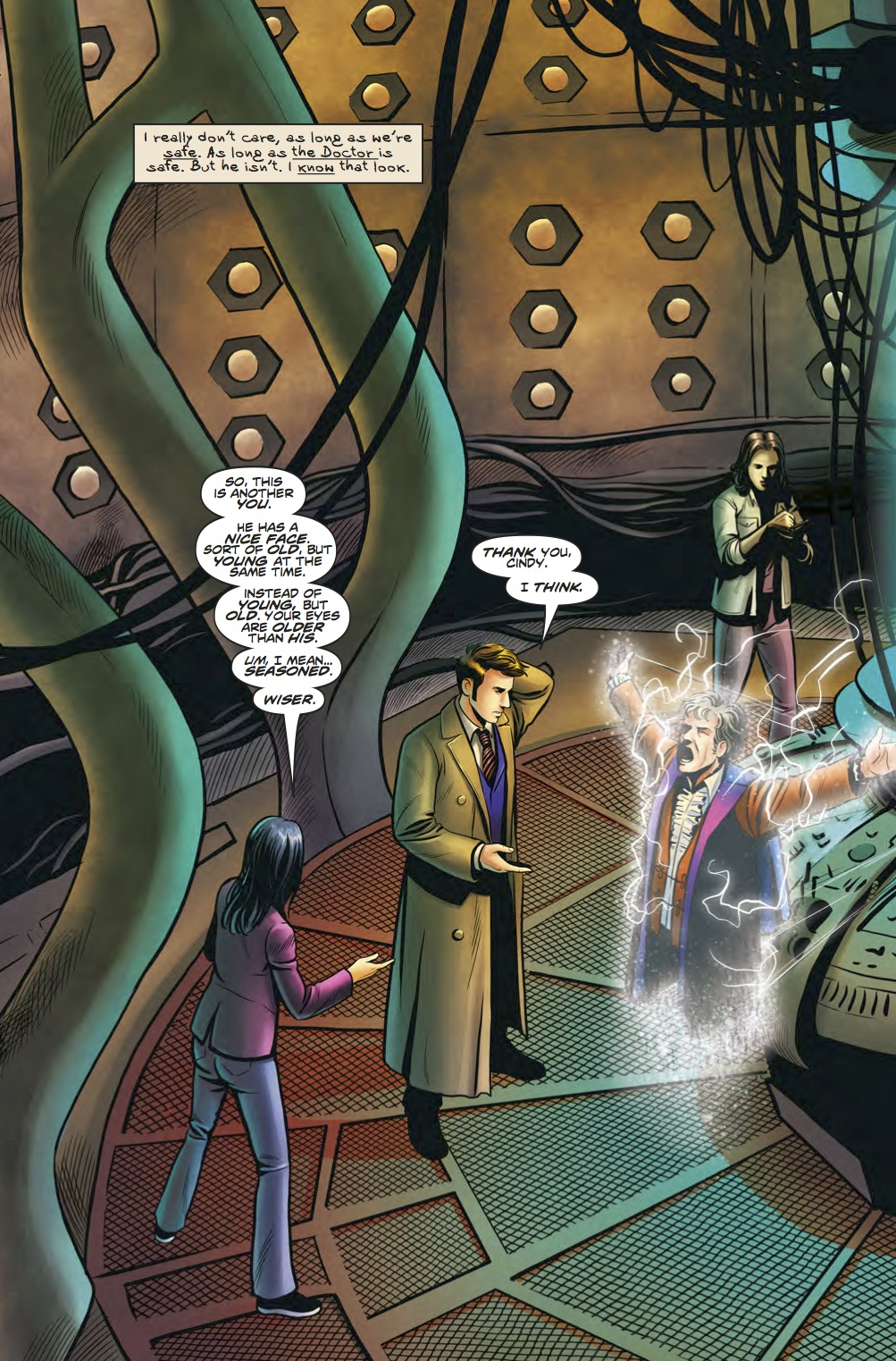 The Lost Dimension #3 - Tenth Doctor Special  (Credit: Titan)