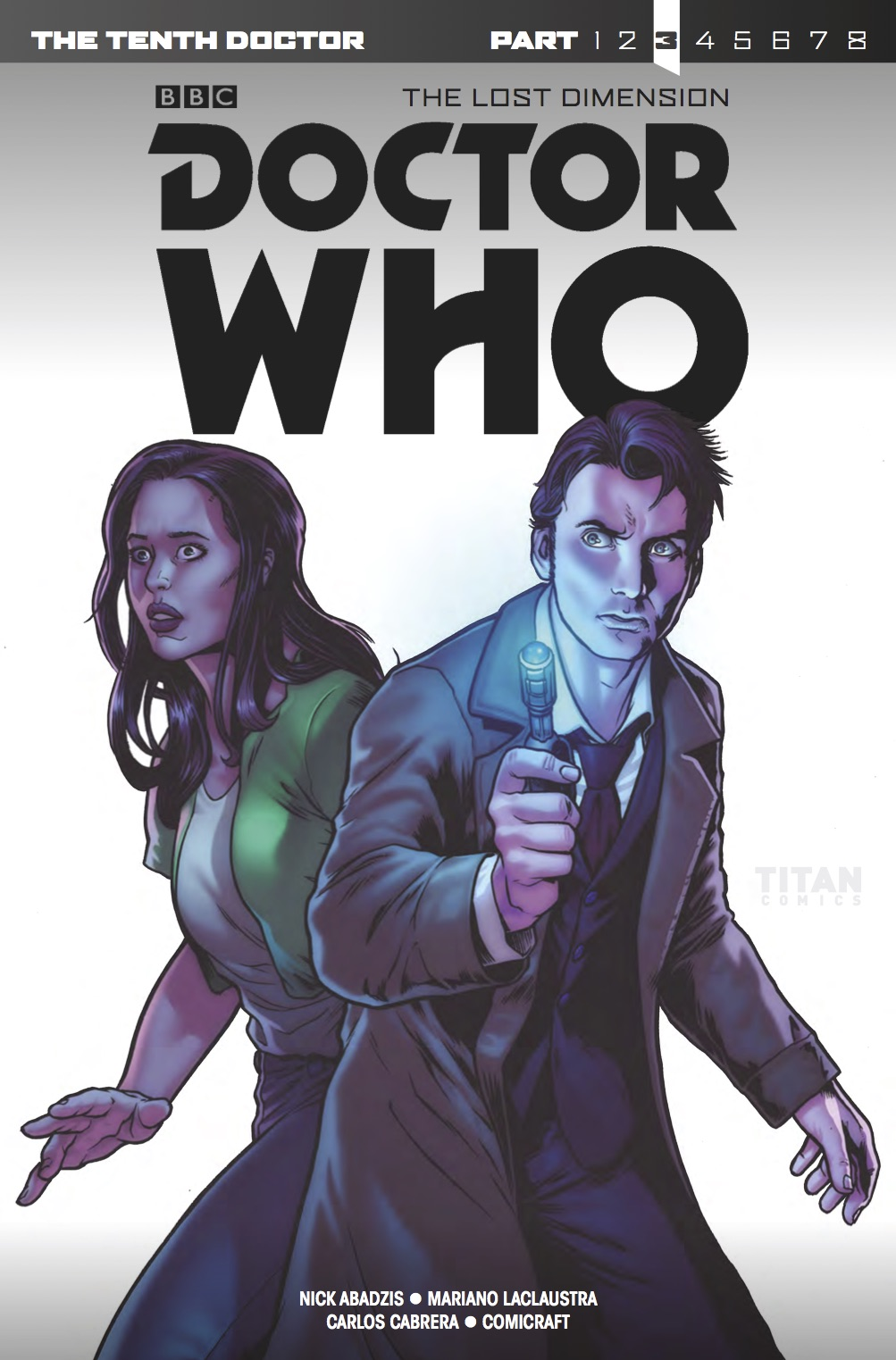 The Lost Dimension #3 - Tenth Doctor Special Cover A (Credit: Titan)