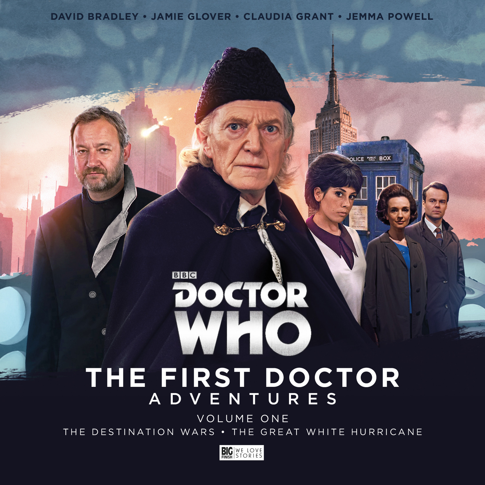 The First Doctor Adventures (Credit: Big Finish)