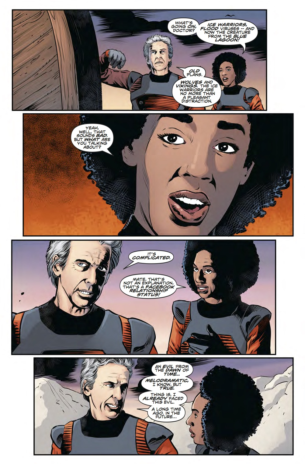 Twelfth Doctor Year Three #8 - Page 4 (Credit: Titan )