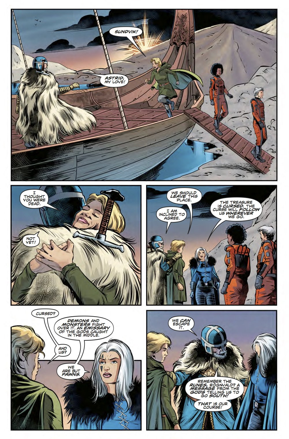 Twelfth Doctor Year Three #8 - Page 3 (Credit: Titan )