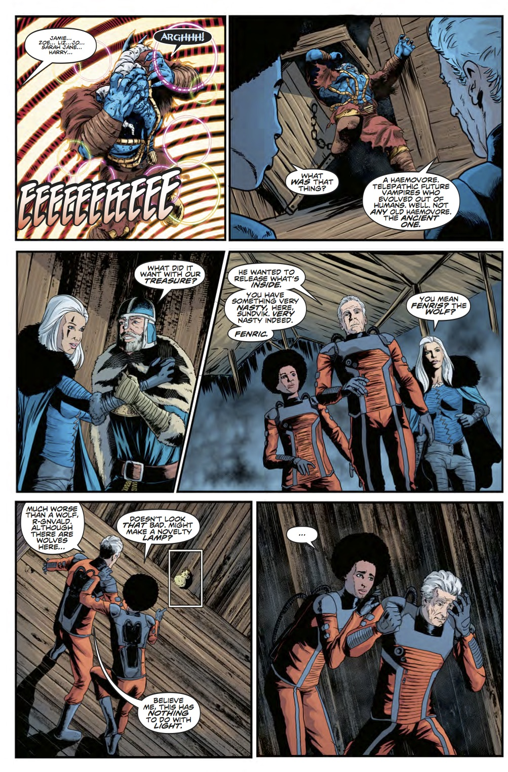Twelfth Doctor Year Three #8 - Page 2 (Credit: Titan )