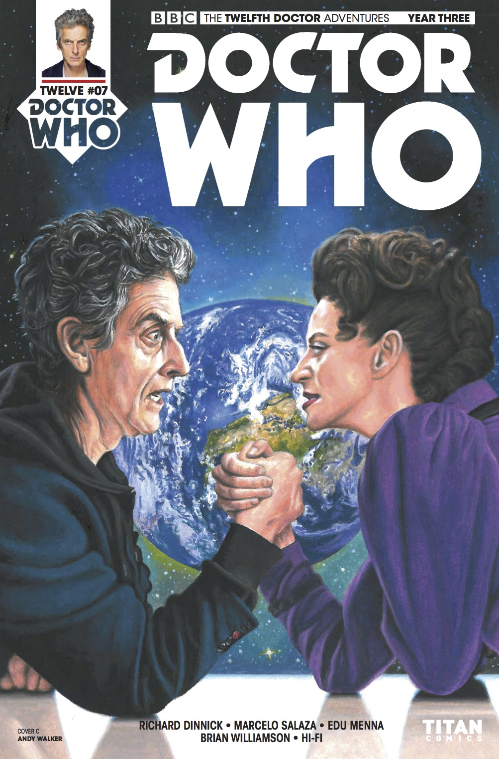 Twelfth Doctor Year Three #8 - Cover C (Credit: Titan )