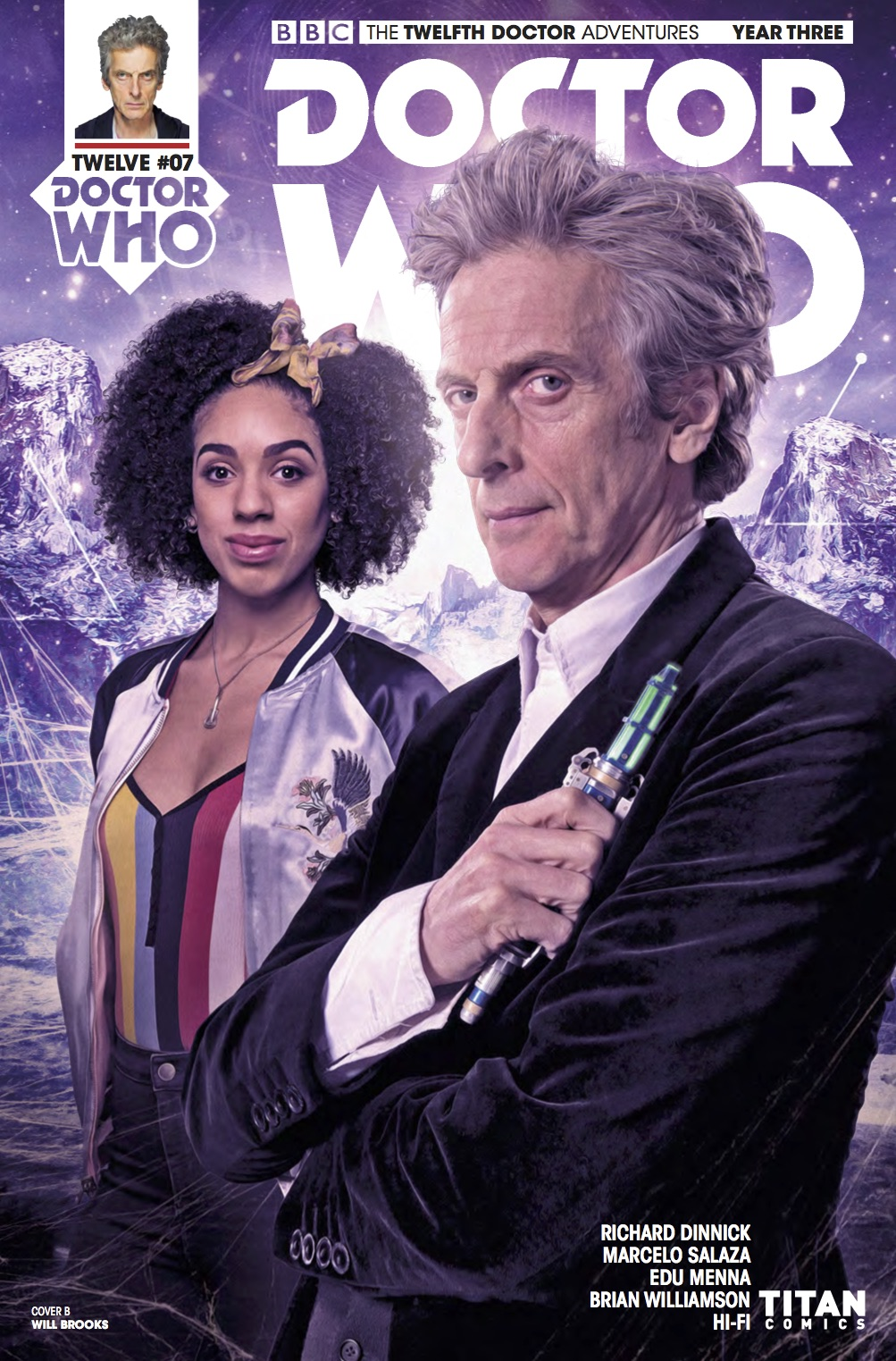 Twelfth Doctor Year Three #8 - Cover B (Credit: Titan )