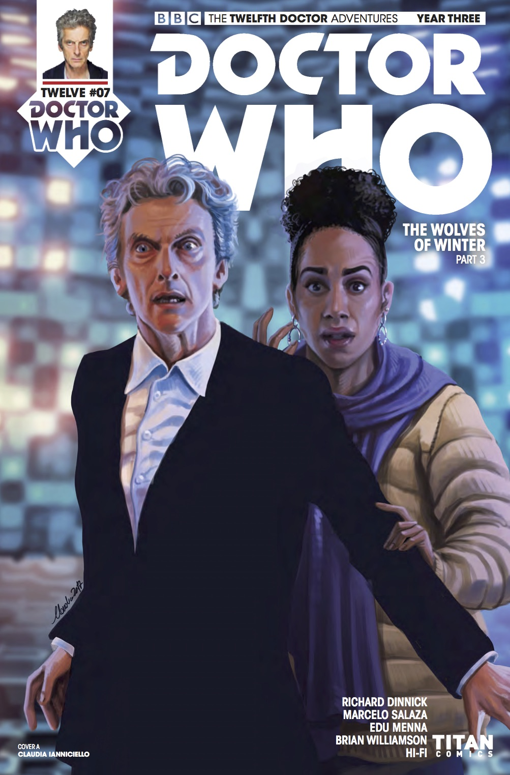 Twelfth Doctor Year Three #8 - Cover A (Credit: Titan )