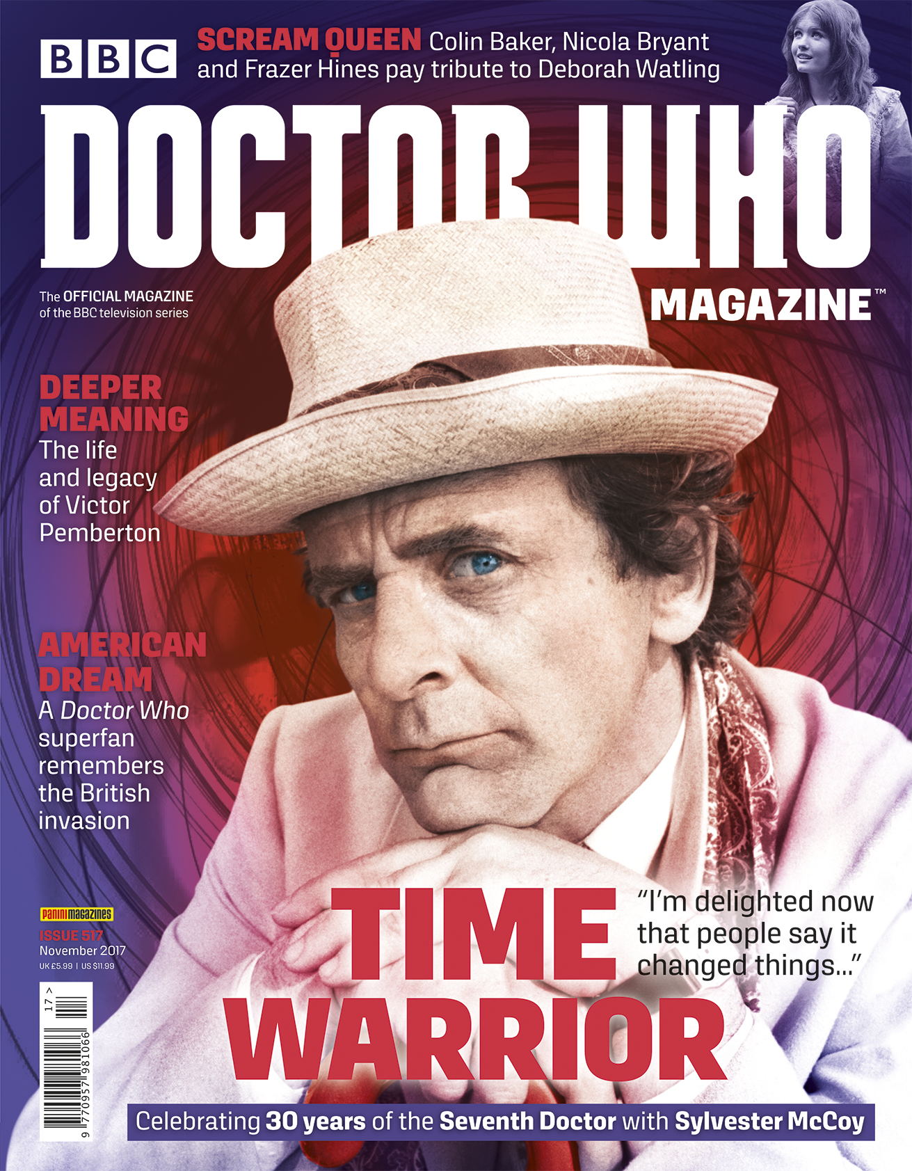 Doctor Who Magazine 517 (Credit: Panini)