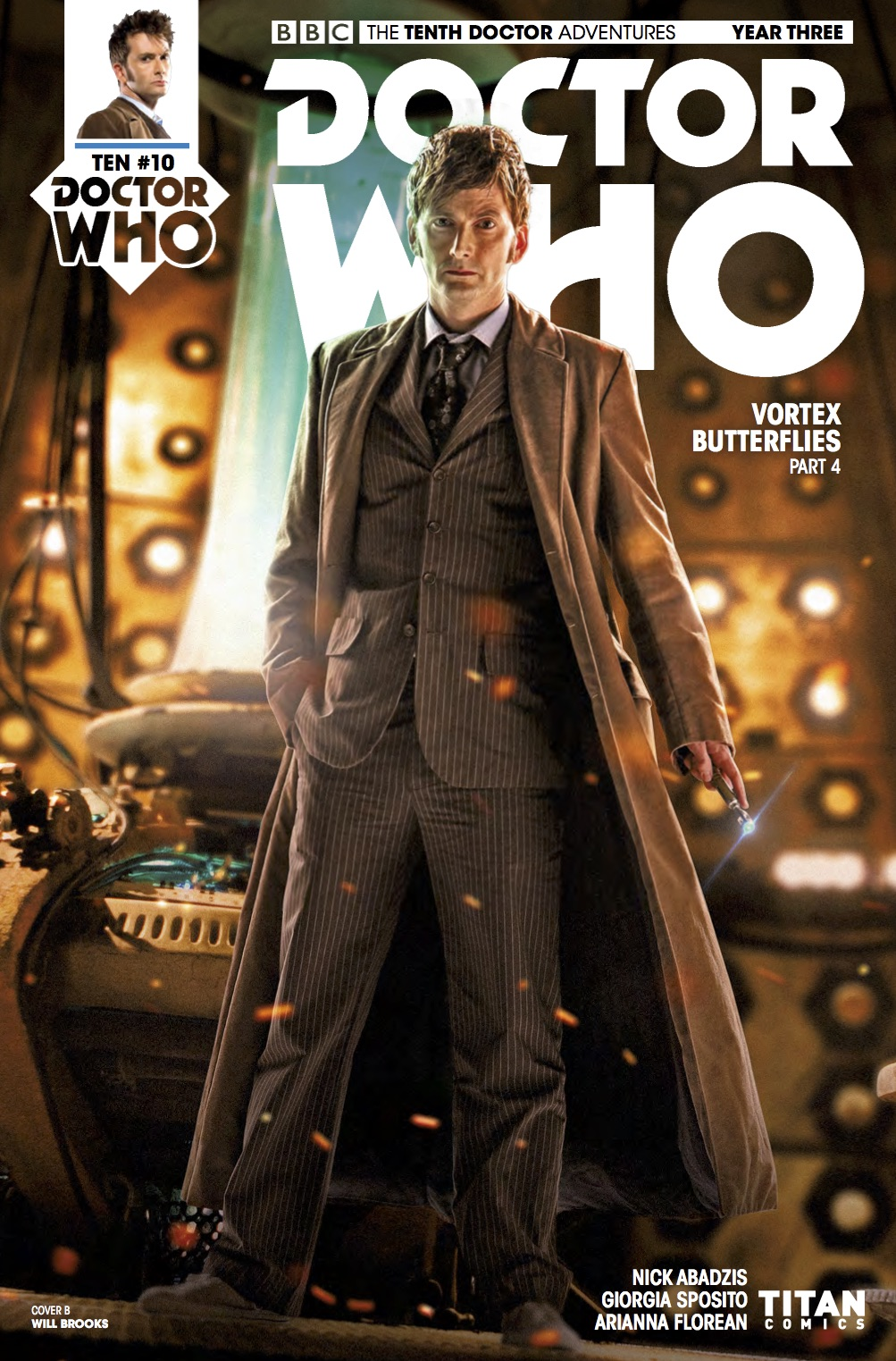 TENTH DOCTOR 3 10 - Cover B (Credit: Titan )