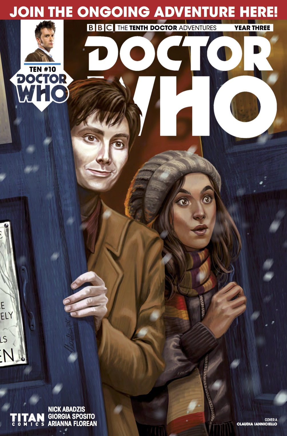 TENTH DOCTOR 3 10 - Cover A (Credit: Titan )