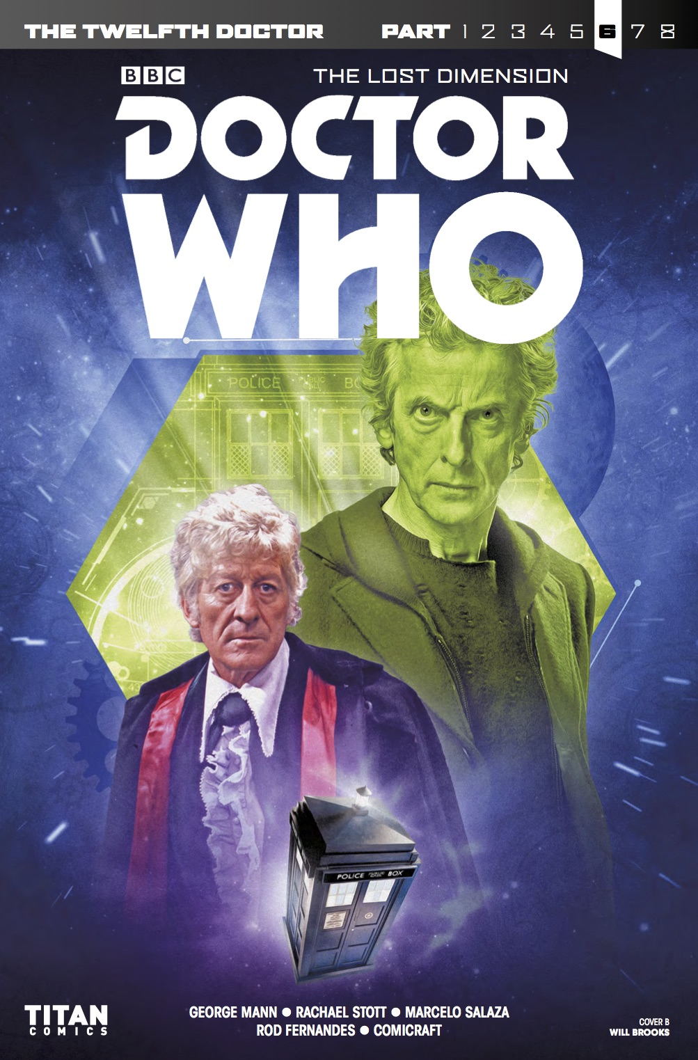 TWELFTH DOCTOR 3 8 - Cover B (Credit: Titan )