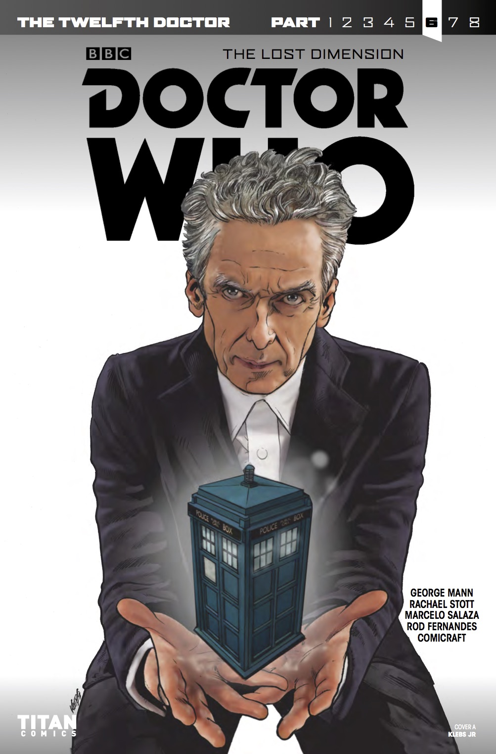 TWELFTH DOCTOR 3 8 - Cover A (Credit: Titan )