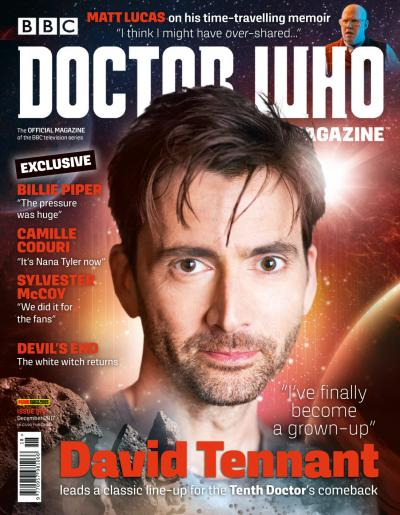 Doctor Who Magazine Issue 518 - Cover (Credit: Panini)